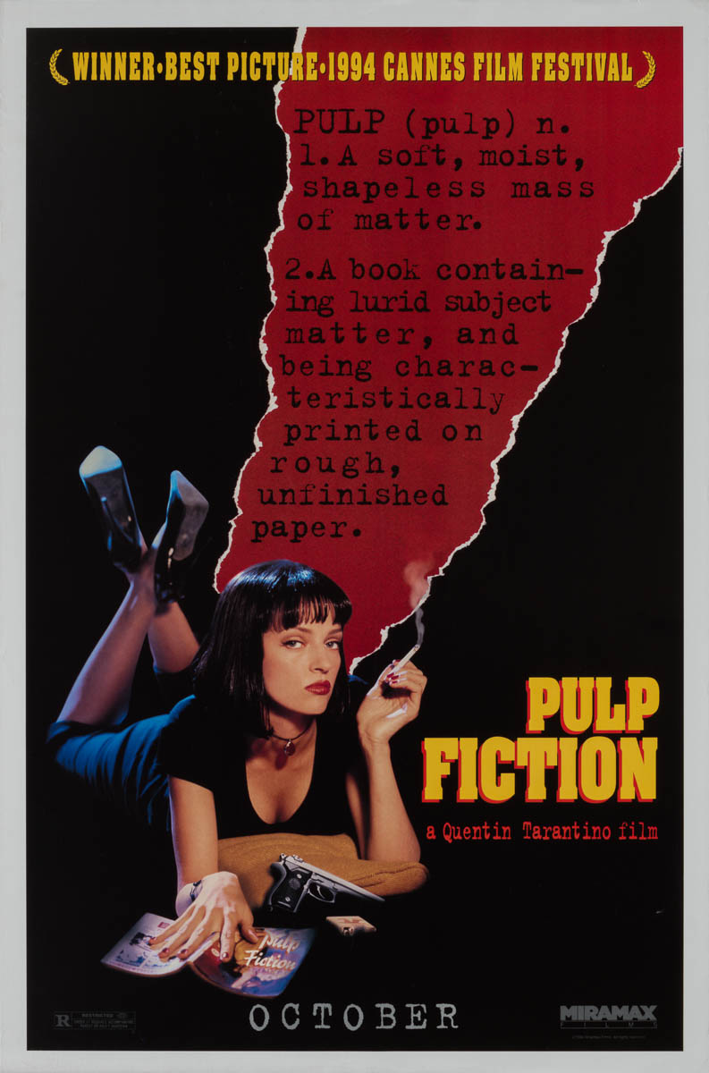 a critical analysis on pulp fiction by quentin tarantino My favourite tarantino movie – pulp fiction  of django unchained by selecting their favourite quentin tarantino  critical analysis of every aspect.