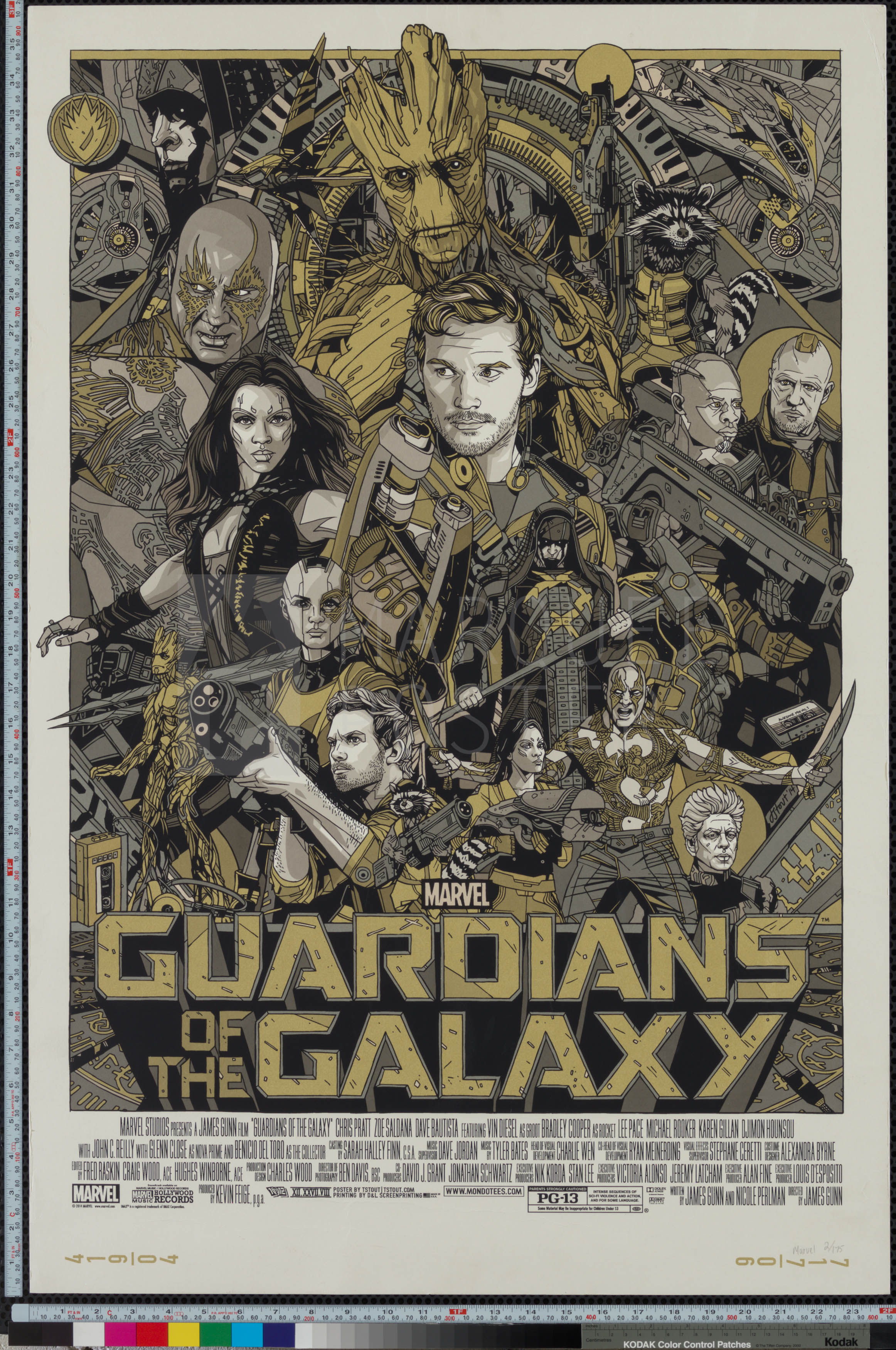 51-guardians-of-the-galaxy-marvel-cast-crew-gold-variant-art-print-us-arch-d-2014-02-7