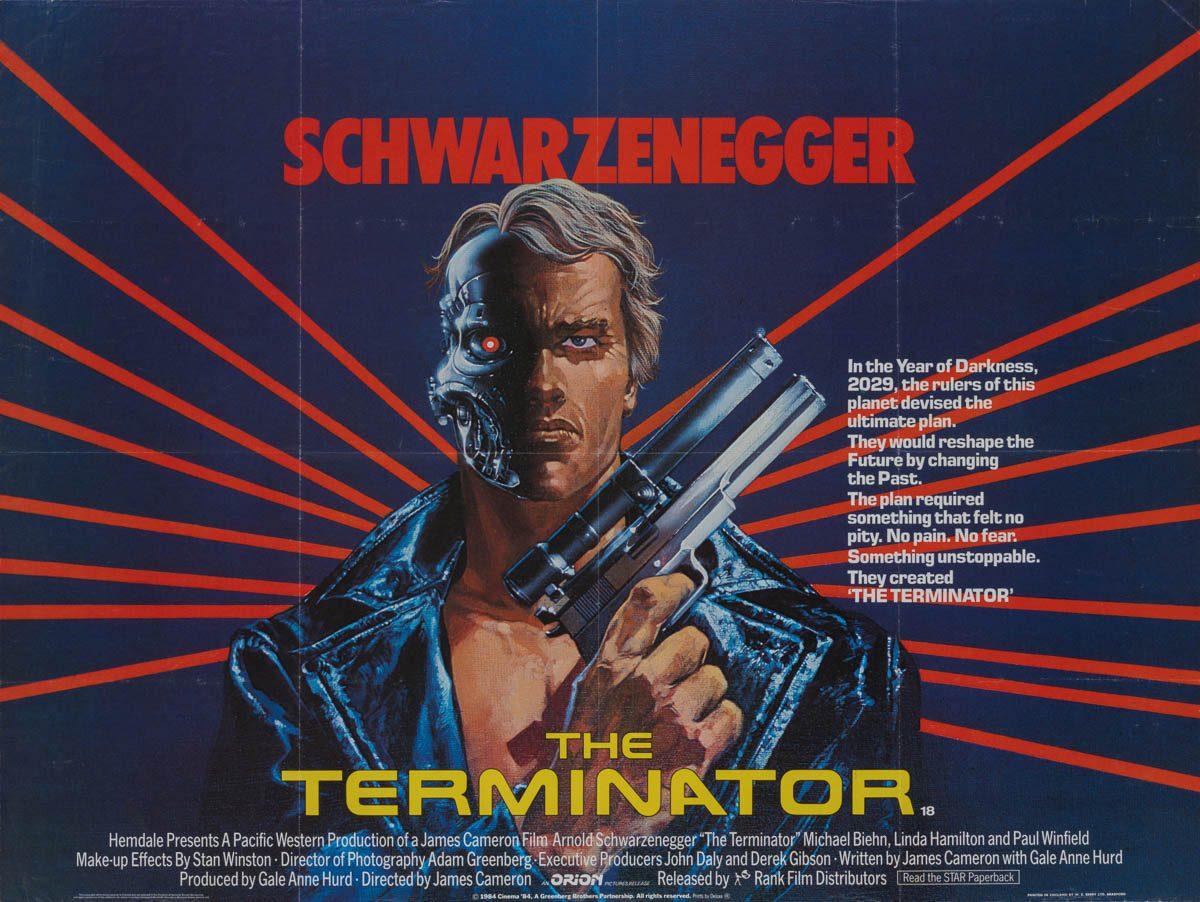 40 Terminator Uk Quad 1985 01