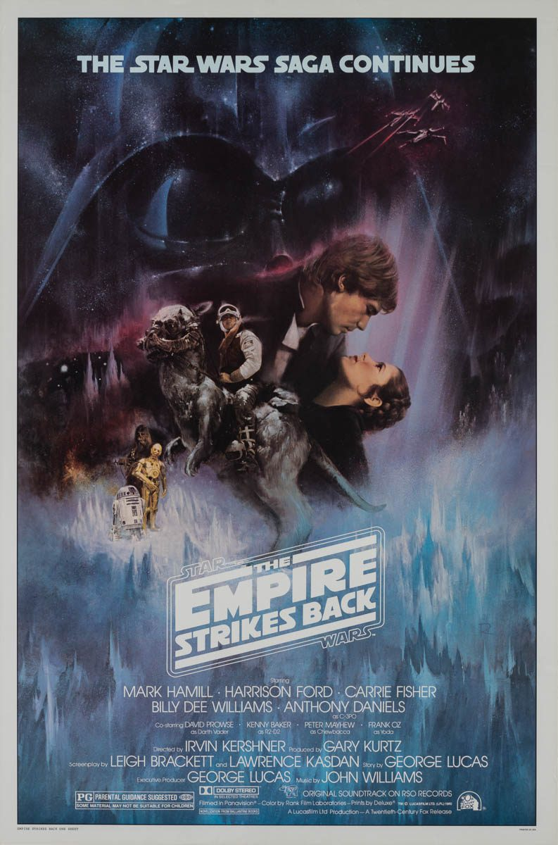 Marquee Poster | Star Wars: Episode V - The Empire Strikes Back 1980 US  1-sheet