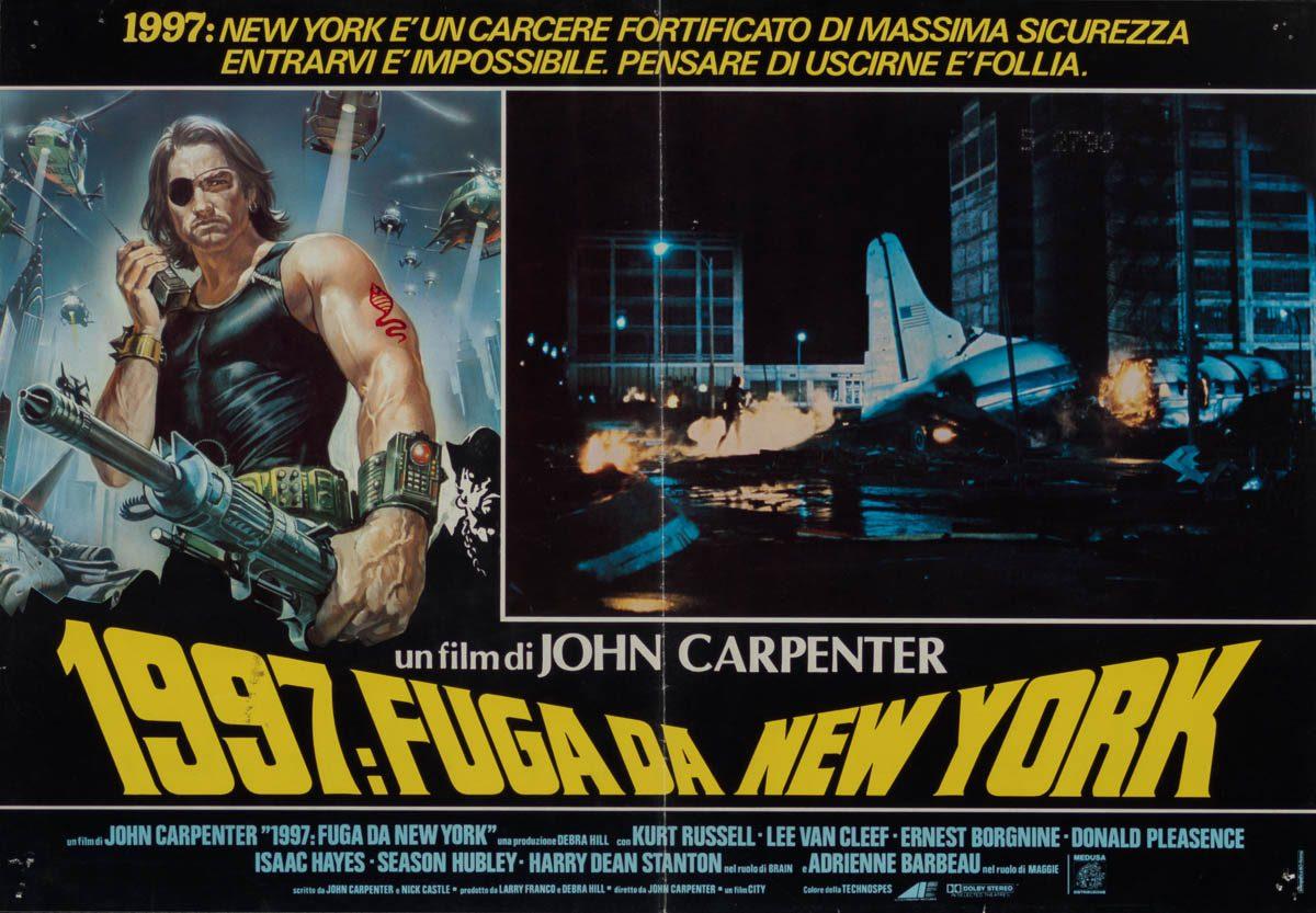 90-escape-from-new-york-plane-style-italian-photobusta-1981-01