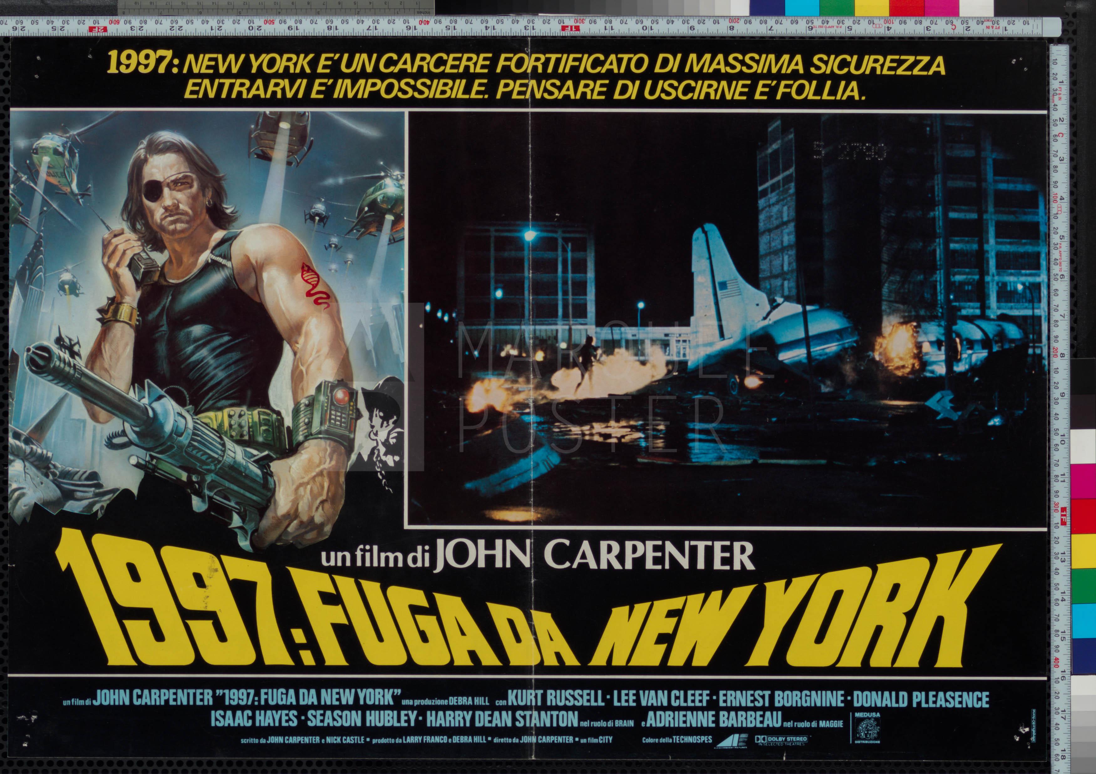 90-escape-from-new-york-plane-style-italian-photobusta-1981-02